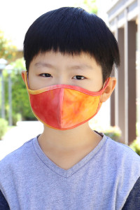 S4-7-1-ARFM7001K-RTD001-CORAL-TIE DYE REUSABLE FACE MASK FOR KIDS/12PCS **Size not intended for kids 2 years old and below**