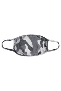 S3-4-2-ARFM7002K-RCM008-GY GRAY CAMOUFLAGE REUSABLE FACE MASKS FOR KIDS/12PCS    **Not intended for kids 2 years old and below**