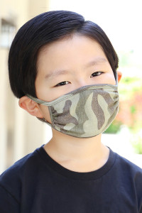 S4-4-2-ARFM7002K-RCM008-MS MOSS CAMOUFLAGE REUSABLE FACE MASKS FOR KIDS/12PCS    **Not intended for kids 2 years old and below**