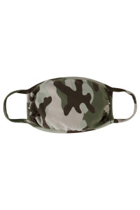 SA4-1-3-ARFM7002K-RCM010-MOSS CAMOUFLAGE REUSABLE FACE MASKS FOR KIDS/12PCS    **Not intended for kids 2 years old and below**