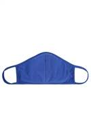 S8-7-4-RFM8001-CT-COB-COBALT PLAIN REUSABLE FACE MASK FOR ADULTS WITH FILTER POCKET/12PCS