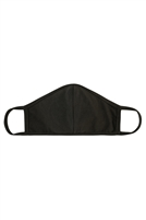 S8-6-3-RFM8001-CT-DOL- PLAIN REUSABLE FACE MASK FOR ADULTS WITH FILTER POCKET-DARK OLIVE/12PCS