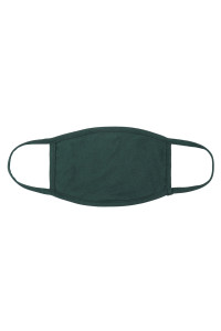 S5-7-1-RFM8002-CT-EVRGN- EVERGREEN CLOTH FACE MASK FOR ADULTS WITH FILTER POCKET/12PCS