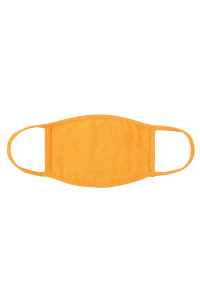 S5-7-2-ARFM8002-CT-LMU LIGHT MUSTARD PLAIN CLOTH FACE MASK FOR ADULTS WITH FILTER POCKET/12PCS