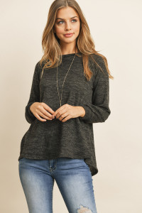 S10-18-1-RFT2236-RSW010-CHL CHARCOAL ROUND NECK HACCI SWEATER 1-2-2-2
