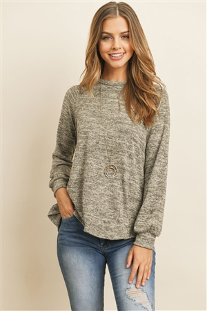 S15-9-1-RFT2236-RSW010-OTM-1 - ROUND NECK HACCI SWEATER- OATMEAL 2-2-2