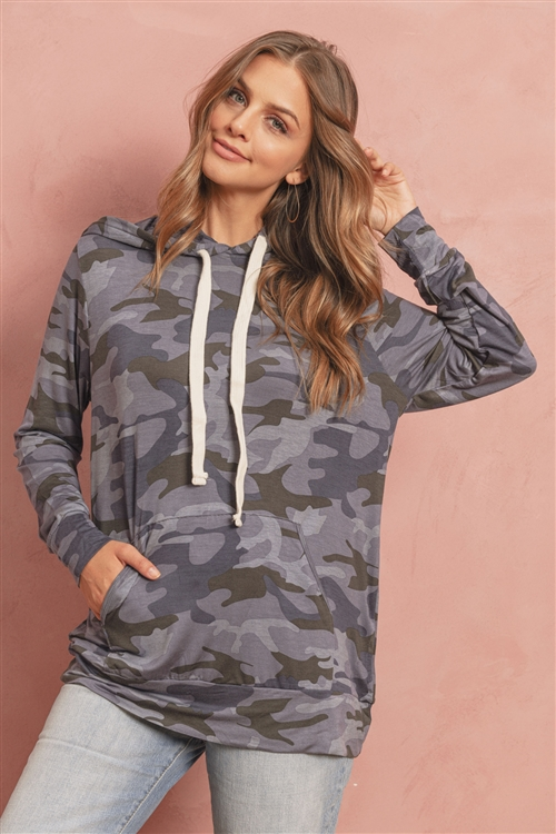 S10-16-4-RT-2136-NVCM-1 - CAMOUFLAGE PRINT HOODIE TOP WITH KANGAROO POCKETS- NAVY/CAMOUFLAGE 2-1-0-1