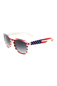S17-2-5-W-690-FLAG-FASHION SUNGLASSES/12PCS