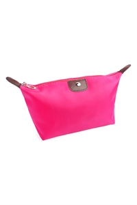 211-3-5-AXBG8123FU FUCHSIA COSMETIC BAG/6PCS