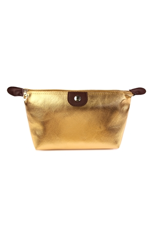 S4-6-1-AXBG8147G GOLD COSMETIC BAG/6PCS
