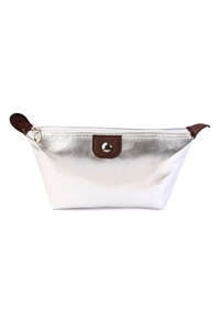 S4-5-1-AXBG8147S SILVER COSMETIC BAG/6PCS