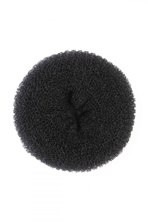 S4-4-1-AXHA5232BK BLACK DOUGHNUT HAIRBAND/12PCS