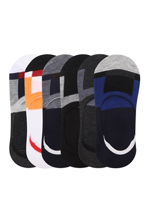S20-3-2-Z-73195- ASSORTED COLOR MEN SOCKS/12PAIRS