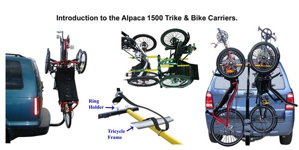 Alpaca Carriers Bike Racks Bike Carriers Recumbent Skis