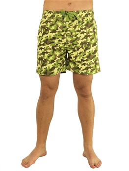 1972N-120701590 Camouflage Swim shorts with elastication and a tie at waist/ 1-2-2-1