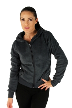 1981N- 8051 - Grey -Hooded Jacket with Zipper/2-2-2
