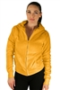 1981N- 8051 - Mustard -Hooded Jacket with Zipper/2-2-2