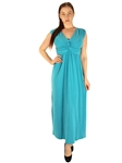 1984N - 11347 -Front Knot Maxi Dress/1-2-2-1