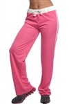 3018N-1601M1-Fuchsia- Pull On Tricot Sweat Pants & Drawstring / 1-2-2-1