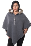 3038N-SOC50-Charcoal Cardigan Hooded Sweater / 1-2-2-1