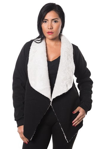 3038N-SOC51-Black Cardigan Sweater / 1-2-2-1