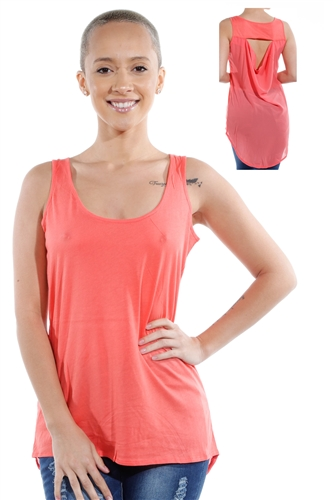 3069N-3293-Orange-Low Tank Top/ 2-2-2