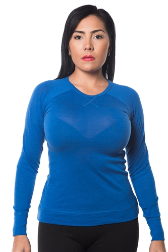 3069N-8176XL-Royal-  Pullover Sweatshirt / 2-2-2