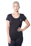 3083N-274152-Black- Women's Active Running Top / 4-2-1