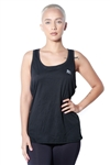 3083N-274153-Black- Women's Active Running Racer Back Top / 1-2-3-1