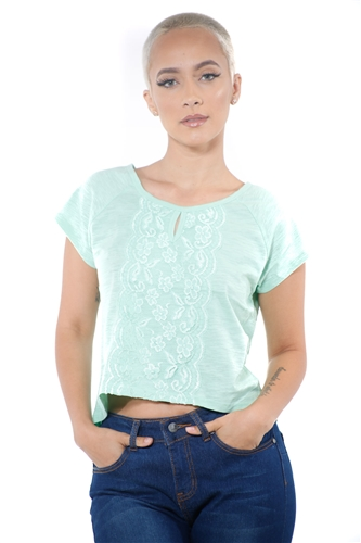 3097N-1674-Sage-Women's Front Lace High Low Top/ 2-2-2
