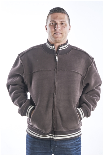 Men's Zip Front Fleece Jacket