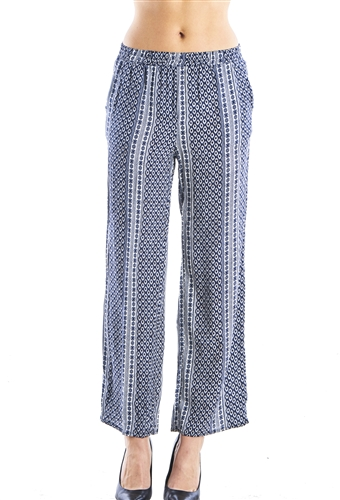 Ladies High Waist Wide Leg Palazzo Pants