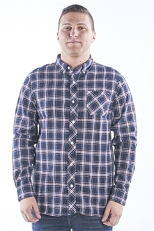 Men's Plaid Button Down Casual Long Sleeve