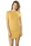 Ladies Soft Knit Short Sleeve TShirt Dress/ 1-2-2-1