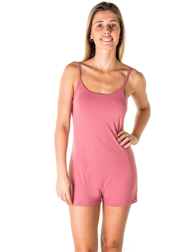 Ladies Knit Romper Shorts with Adjustable Draw String