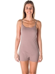 Ladies Knit Romper Shorts with Adjustable Draw String / 1-2-2-1*available colors Black, New Mustard, Burgundy, Taupe*