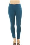 Ladies Stretch Cotton Blend Leggings / 2-2-2