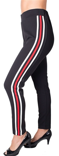 Ladies Side Stripe Pants
