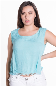 Women's Sleeveless Hanging Top