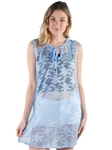 Ladies Long Crochet Lace Swim Cover Up