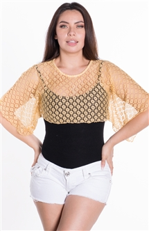 Ladies Crochet Lace Swim Cover Up
