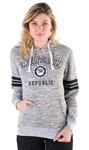 "Women's Space Dye, Pullover Hoodie with ""California Republic"" Print"