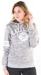 "Women's Space Dye, Pullover Hoodie with ""Cali Love"" Print"