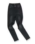 Ladies High Waist Stretchable Basic Skinny Jeans