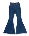 Ladies High Waist Stretchable Bell Bottom Jeans