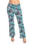 Women's Floral Printed Soft Pants/10