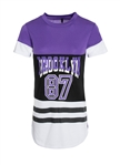 Women's Printed Jersey Style Shirt