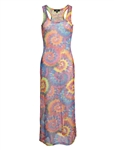 Women's Mesh Cover Up Maxi Dress