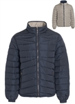 Men's Plus Size Quilted Reversible Puffer Jacket