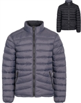Men's Reversible Quilted Camo Puffer Jacket with Stretchable Side